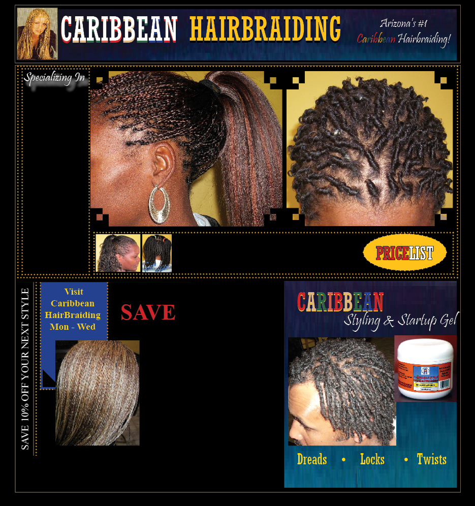 Caribbean Hair Braid Styles